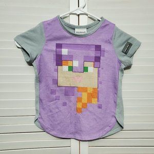 3/$10 Minecraft Kids Pajama Shirt